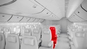 Flugzeugsitz
