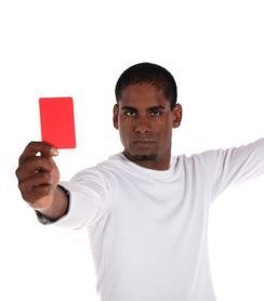Erster Eindruck: rote Karte bei Bewerbungen
