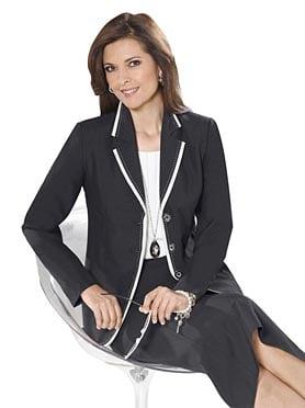 Business-Knigge: Blazer für Frauen