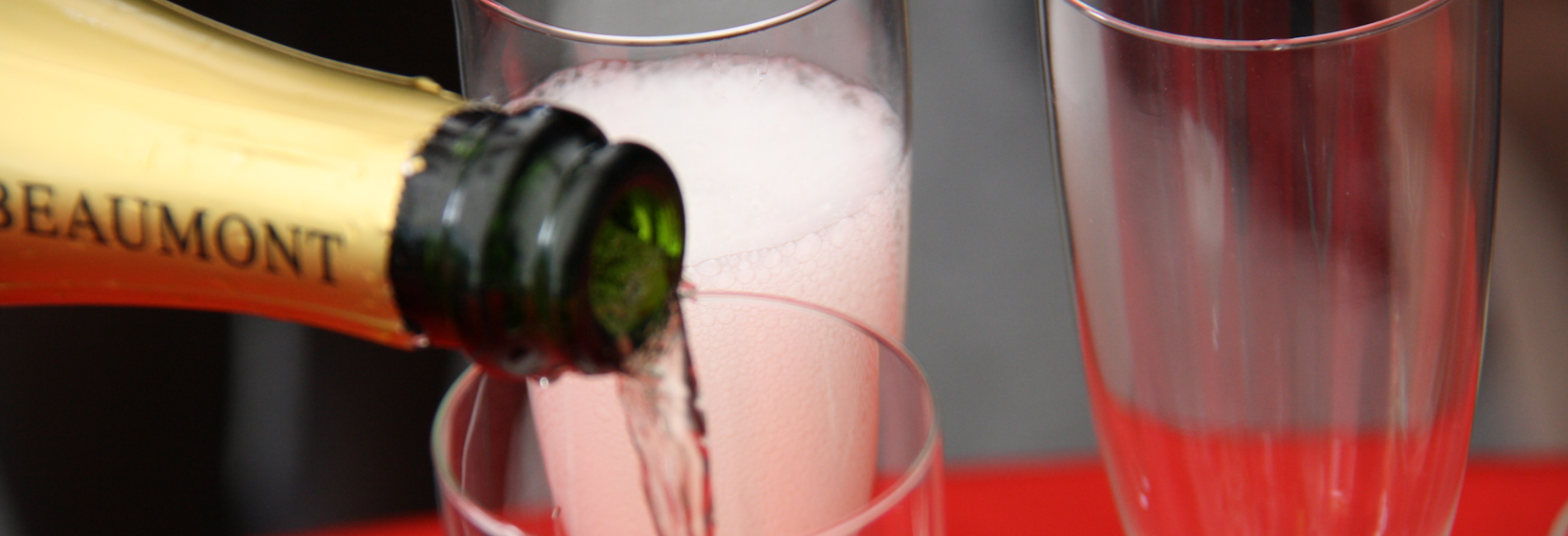 Champagner zum neuen Jahr