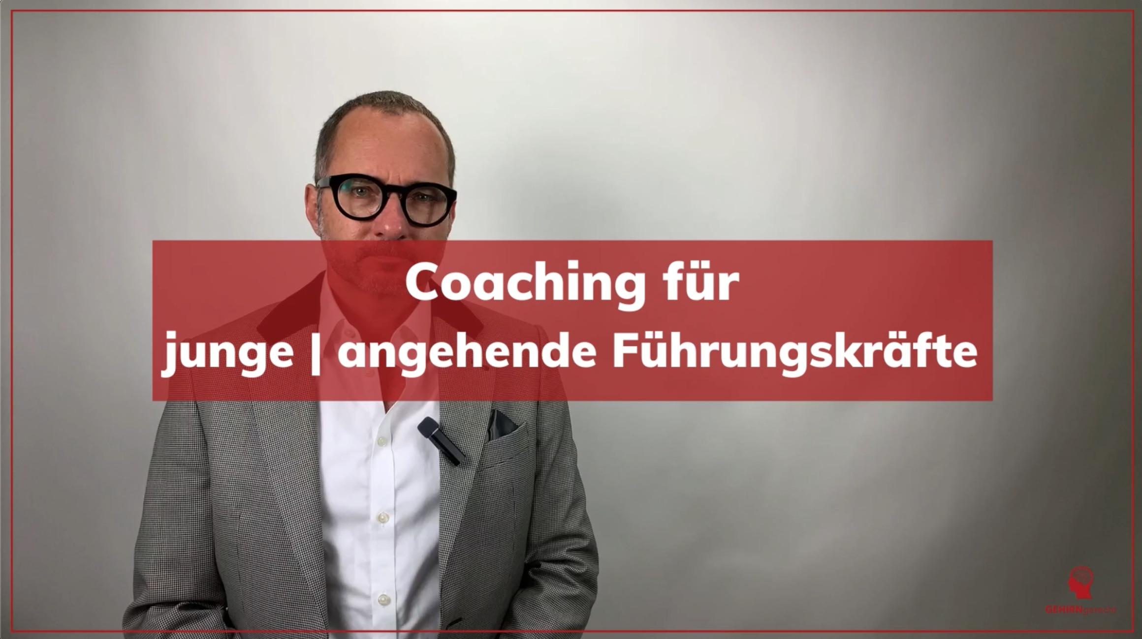 Coaching für junge | angehende Führungskräfte