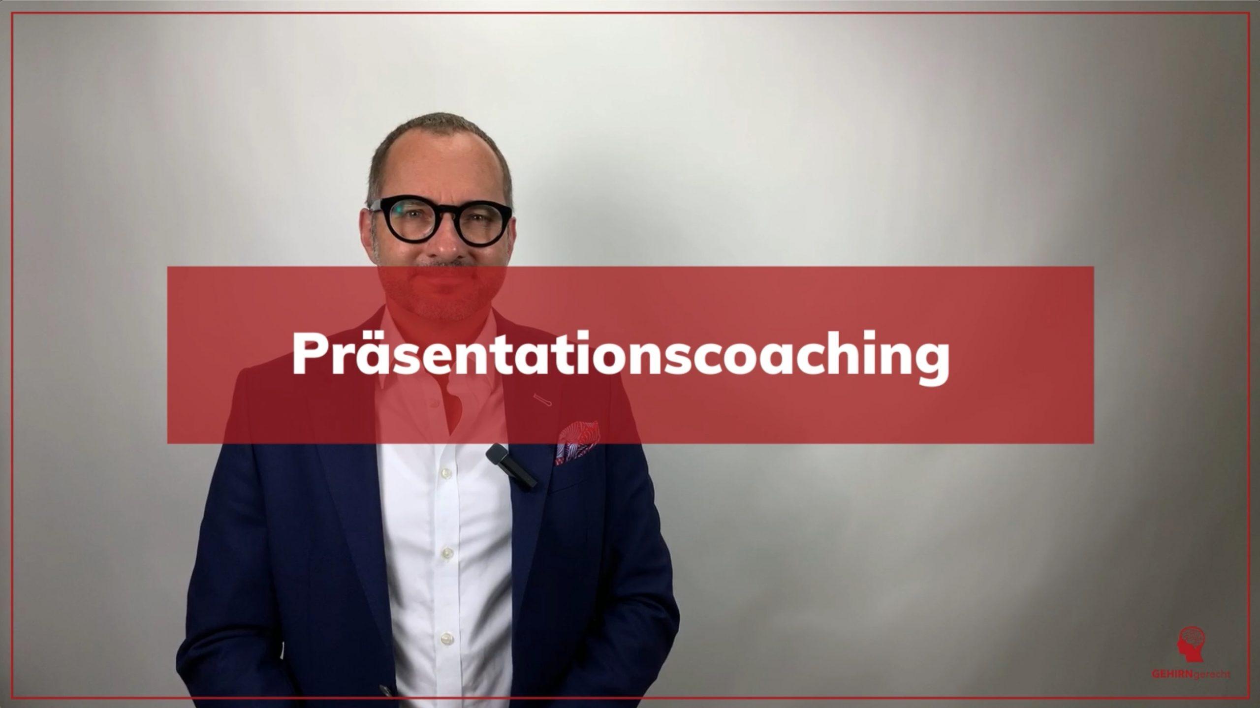 Präsentationscoaching